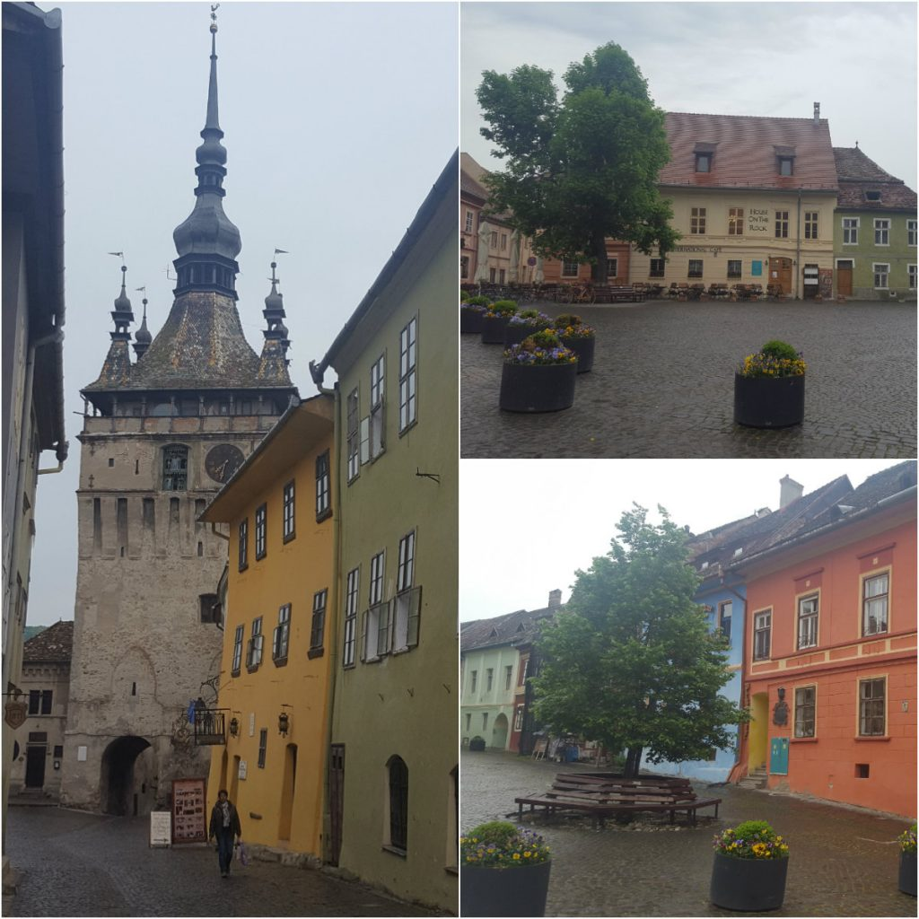 collage Sighisoara
