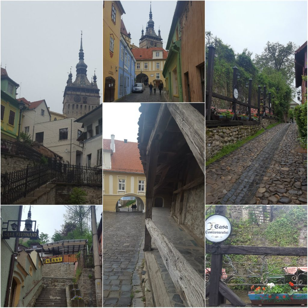 collage Sighisoara 2